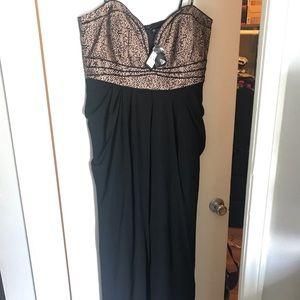 City Chic black maxi formal dress